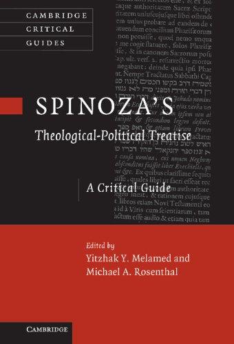 Spinoza's 'Theological-Political Treatise': A Critical Guide (Cambridge Critical Guides)