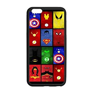 Superheroes Symbols Hard Custom Phone Case Cover for iPhone6 Plus 5.5inch