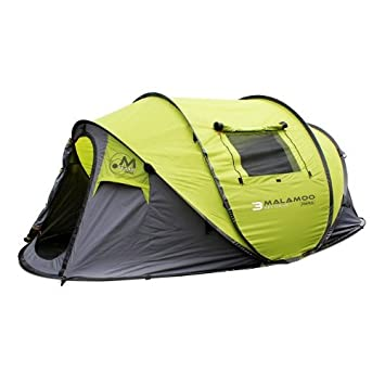 Malamoo Mega 3 Second 4 Person Waterproof Tent  sc 1 st  Amazon.com & Amazon.com : Malamoo Mega 3 Second 4 Person Waterproof Tent ...