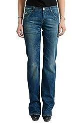 Versace Vjc Women S Blue Straight Jeans Us 26 It 40