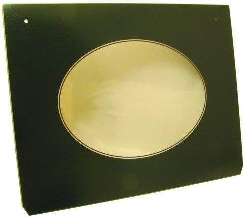 DOOR GLASS M/O GREEN HOTPOINT