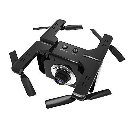 Vehicle 720p (Sonmer L600 720P Wide-Angle Folding HD Aerial Vehicle,2.4GHz 6 Axis RC Selfie Drone,WIFI APP Gesture Photo Headless Intelligent Fixed Height One Button Return)