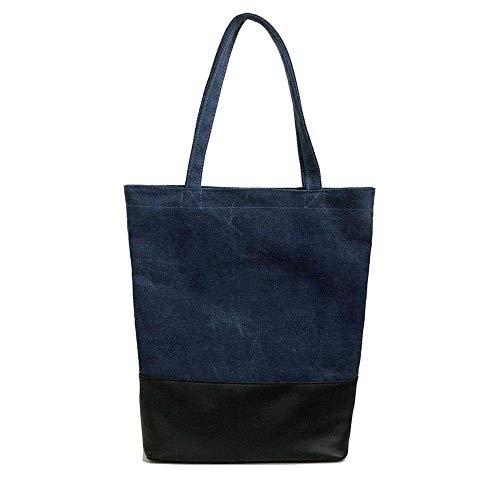 friendly B Shopping multifunzione Yunnxi Leisure tracolla a di Eco grande Borsa sacchetto tela Travel Fashion OZ6xvqnWn