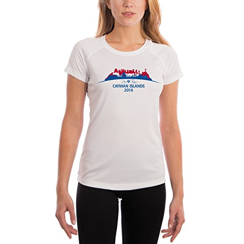 Price comparison product image Vapor Apparel Rio Team Cayman Islands Women's UPF Performance T-shirt XX-Large White