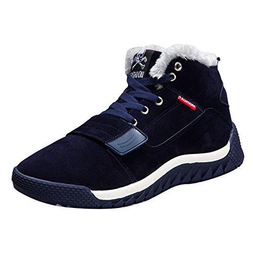 correr cordones Cima alta Rojo Zapatos invierno Azul Deportes Azul invierno Casual 0b9948