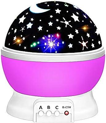 DEDY Lighting - Proyector de luz Nocturna para niños, diseño ...