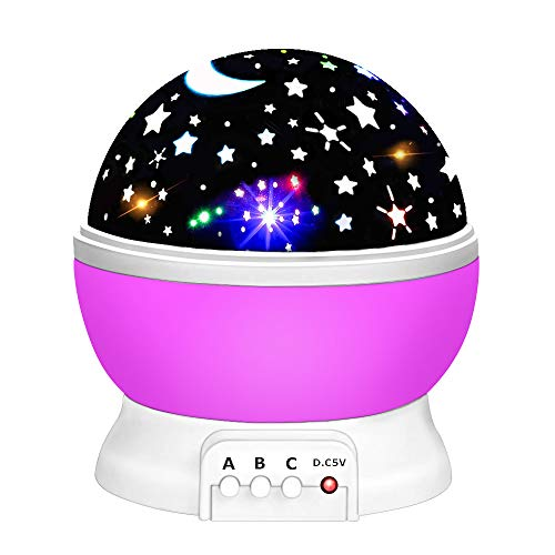 LET'S GO! Toys for 3-5 Year Old Boys, DIMY Night Lighting Lamp for Kids Gifts for Girl 3-10 Year Old Toys Gifts for 3-10 Year Old Boys Girls Toys Age 3-10 Purple DMUSNL02 -