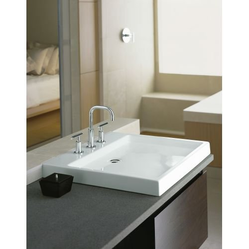 Kohler K 2314 47 Purist Wading Pool Bathroom Sink Almond