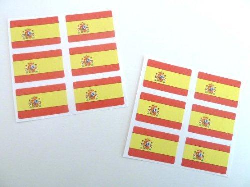 Top spanish flag sticker mini for 2019