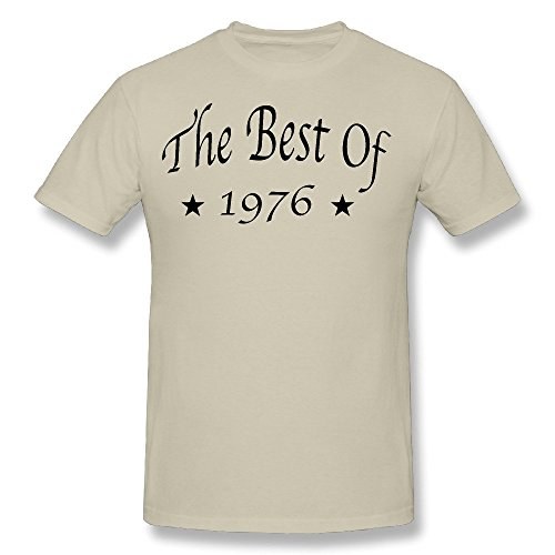 Men's The Best Of 1976 T Shirt Natural