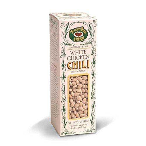 White Chicken Chili - Buckeye Beans & Herbs 14oz, (Pack of 6)
