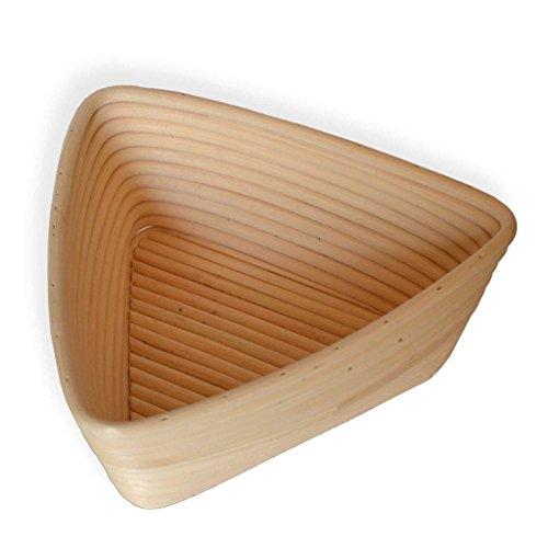 Babyfoxy 9 Inch Triangle Brotform Banneton Proofing Basket