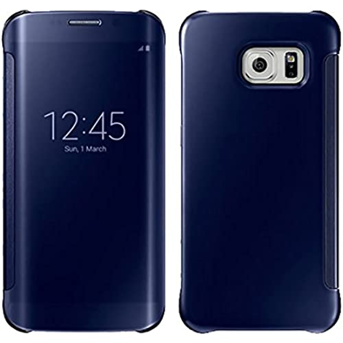 Gravydeals Galaxy S7 Full Body protection Case, 2016 Newest Clear Smart View Window Mirror All-around protection Sales