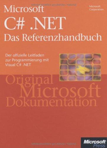Microsoft C sharp .NET