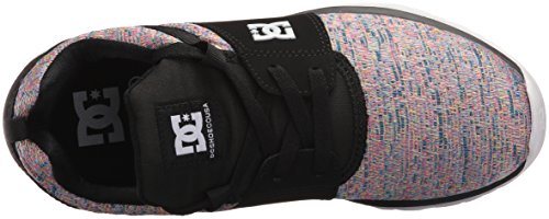 Shoe Skateboarding Black DC Women's SE Heathrow Multi FqwPZIS