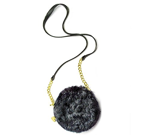 Betsey Johnson xox Trolls Cantene Crossbody Bag (Black)