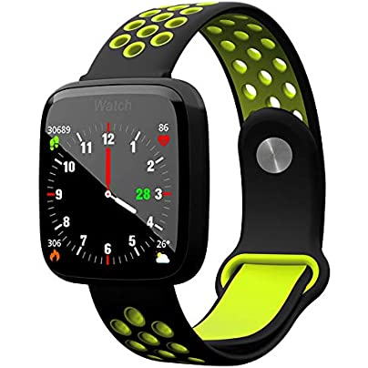 GBRALX Activity Trackers Bluetooth Reminder Heart Rate Blood Pressure Monitor Smart Bracelet Fitness Tracker Smart Watch Waterproof Smart Wristband Estimated Price £41.99 -