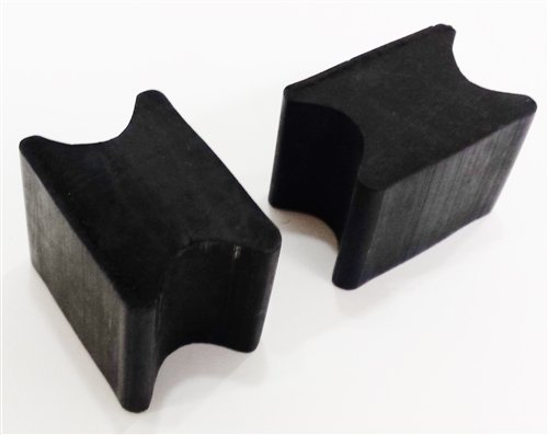 Universal Front Coil Spring Repair Riser Booster Rubber Lift Blocks, 1'' by thestopshop