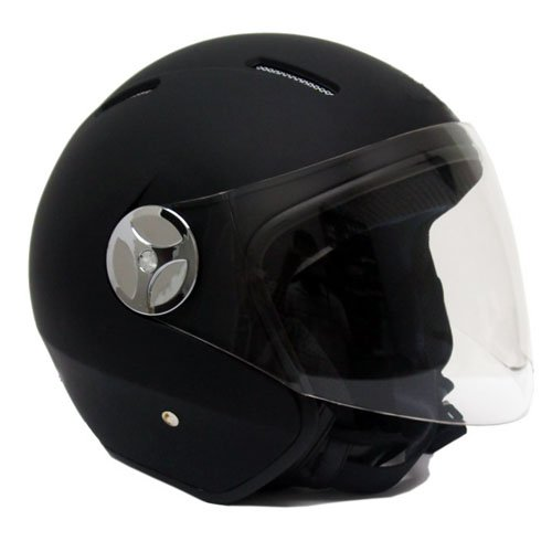 motorcycle-scooter-pilot-open-face-helmet-dot-matte-finish-black-large
