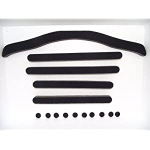 Aftermarket Replacement Pads Liner Compatible with Specialized Sierra, Align, Flash, and Max Helmets