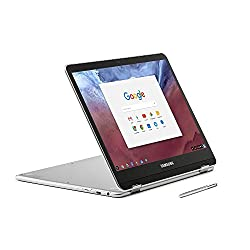 """Samsung 12.3"""" 2-in-1 Convertible 2400 x 1600 WLED Touchscreen Chromebook Plus - OP1 Hexa-core 2.0GHz, 4GB RAM, 32GB eMMC, Bluetooth, Webcam, 10hr Battery Life, Chrome OS- Pen included"""