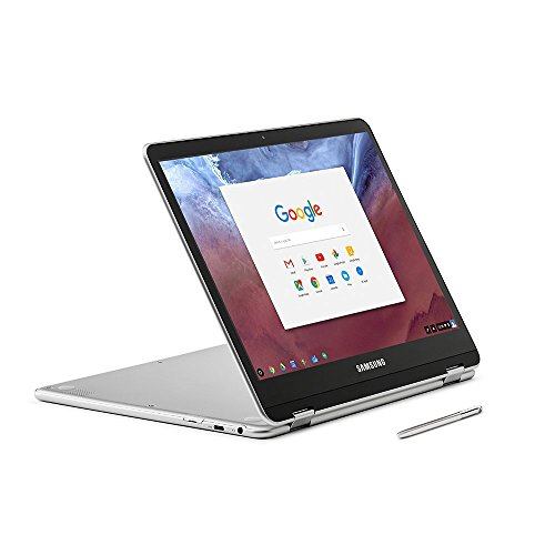 "Samsung 12.3"" 2-in-1 Convertible 2400 x 1600 WLED Touchscreen Chromebook Plus - OP1 Hexa-core 2.0GHz, 4GB RAM, 32GB eMMC, Bluetooth, Webcam, 10hr Battery Life, Chrome OS- Pen included"
