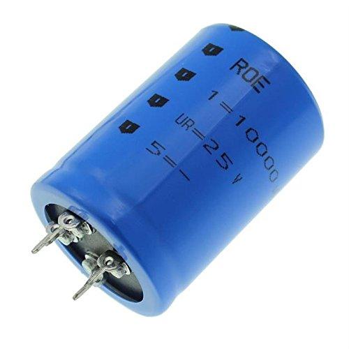 2x Chimique Condensateur 10000/µF 25V 85/°C ; EYV00CD510E02V ; 10000uF
