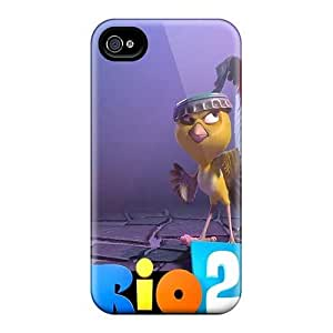 Perfect Hard Cell-phone Cases For Iphone 4/4s (ZcA9556gohD) Unique Design Lifelike Rio 2 Pictures