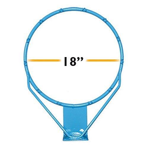 Dunnrite Clear Hoop Stainless Steel Pool Basketball Rim - 18in