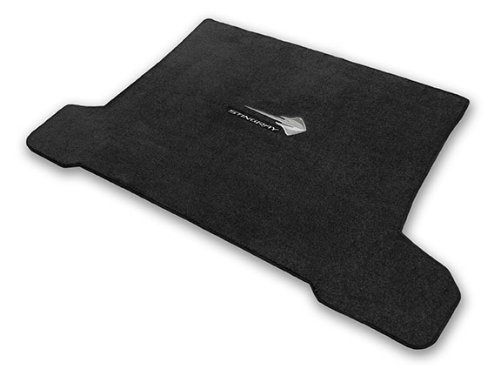 2014-2017 Corvette C7 Coupe Jet Black Trunk Mat - Stingray Logos