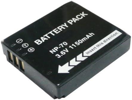 F47fd F40 FD F45fd Batería para Fujifilm NP-70-1150mAhFinePix F20