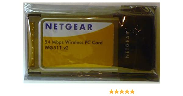 NETGEAR WG511V2 PC CARD DRIVERS WINDOWS 7