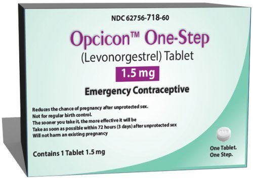Opcicon One-step (Generic Plan B) CASE OF 6