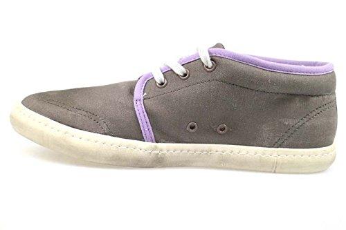 Tessuto D e t Sneakers Scarpe Lilla Scuro a Ap559 date Beige Donna vwUq6
