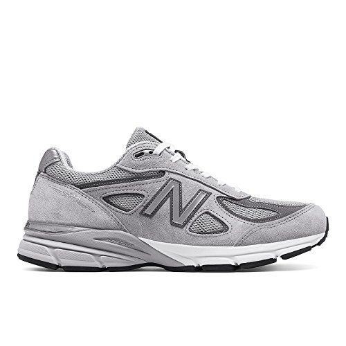 New Balance Men's M990GL4 Running Shoe, Grey/Castle Rock, 9 D US