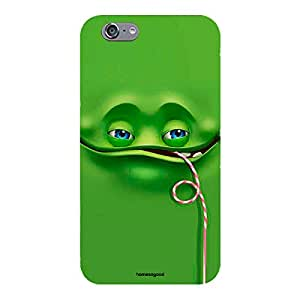 Homesogood Happy Face Comes Out From A Green Wall Multicolor Case For For iPhone 6 (Back Cover)