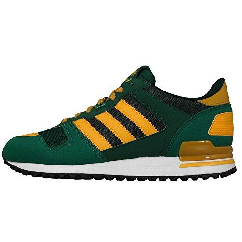 Adidas Men's ZX 700, GREEN/GOLD/GREEN, 8 M US