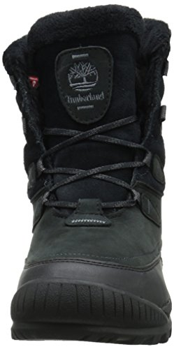 Timberland Womens Woodhaven Mid Waterproof Insulated Winter Boot Black