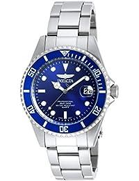 Men's 'Pro Diver' Quartz Stainless Steel Casual Watch, Color:Silver-Toned (Model: 9204OB)