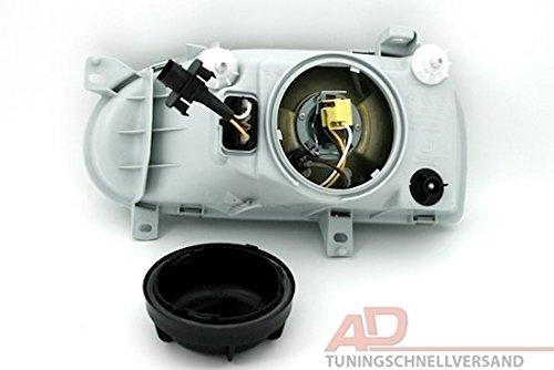 AD Tuning GmbH /& Co Beifahrerseite KG 960114 Scheinwerfer H4 Rechte Seite