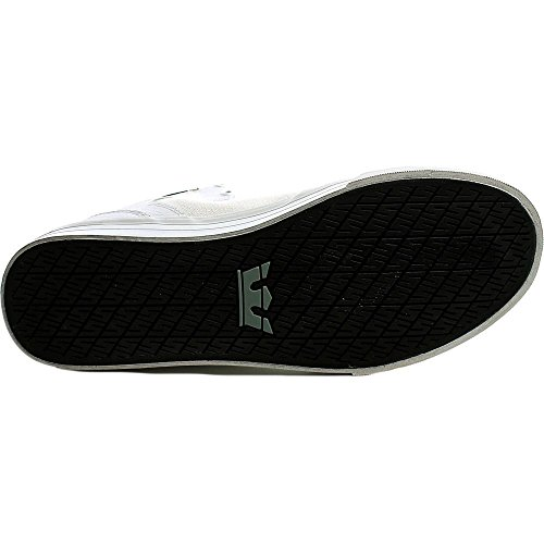 Supra Sportive VAIDER WHITE BLACK Sneakers WHITE Erwachsene Unisex S28058 rBdIwr