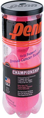 Penn Pink Championship Xd Tennis Balls  Single Can