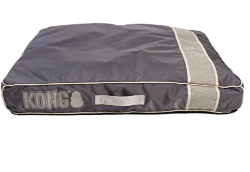 KONG Chew Resistant Heavy Duty Pillow Bed GREY