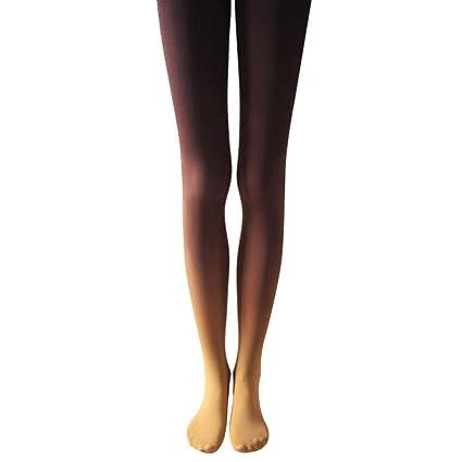 Women Sexy Hose Gradient Slim Watercolour Pantyhose Stocking Tights Thigh Leggings Socks Plus Size