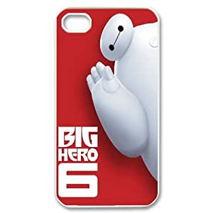 Cartoon Movie Big Hero 6 Pattern Productive Back Phone Case For Iphone 4 4S case cover -Style-20