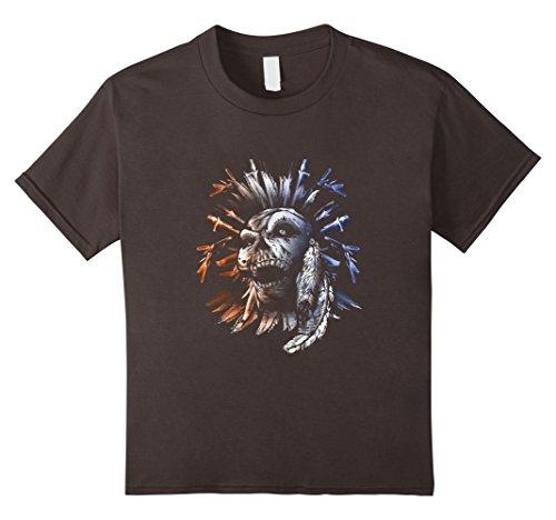 Kids Group Halloween Costume T Shirt Cool Skull Head Skeleton Fun 12 Asphalt