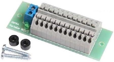 Onpira Stromverteiler Verteiler W 2x12 Mit Schnellanschlussklemmen Mit Montagematerial Spielzeug