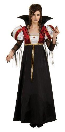 Royal Vampire Halloween Costume (Women's Royal Vampire Halloween Costume Gown)