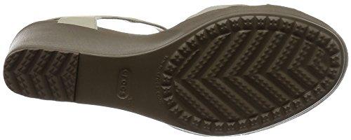 Mules 2c7 Grey Black Gris Crocs Leigh II Light Noir Femme qaaHfR