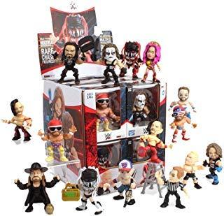 The Loyal Subjects WWE Action Vinyls Window Box Assortment (12 Figures), Multicolor Action Figure Assortment 12 Figures